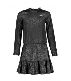 ELLE CHIC Dress Leopars Jaquard