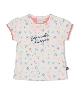 Feetje T-shirt AOP - Seaside Kisses