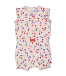 Playsuit - Cherry Sweetness - Roze
