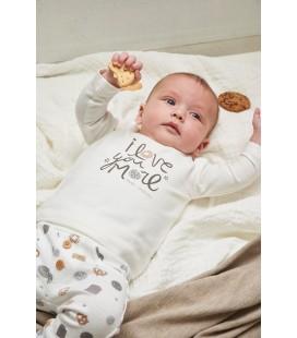 Broek AOP - Mini Cookie - Offwhite