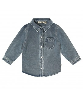 Your Whishes Knitted Denim | Shirt