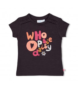 T-shirt Choose - Whoopsie Daisy - Antraciet