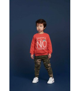 Sturdy Sweater Thanks - Press And Play - Rood