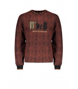 NoBell oversized crocodile AOP sweater Kay