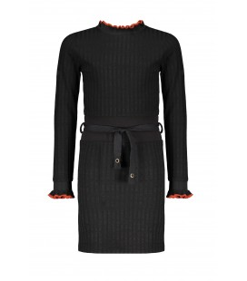 NoBell rib dress with high waist Maddy