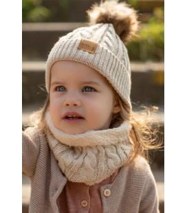 Baby Dutch Wintermuts set Beige