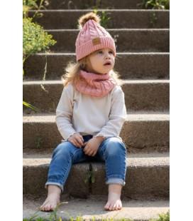 Baby Dutch Wintermuts Set roze
