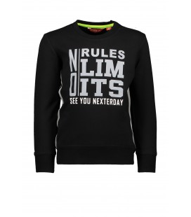 Tygo&Vito sweater solid NO RULES NO LIMITS